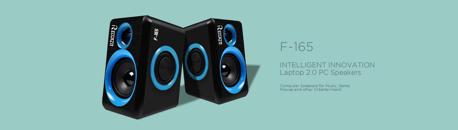 2.0 PC Speakers